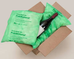 Sealed Air Uses Cardia Compostable Films for New PakNatural® Biodegradable Cushion Bags