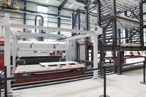 KEMPER STORATEC Displays Automation of a Production Line at the EuroBLECH Fair