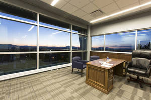 Utah State University's Wayne Estes Center Attracts Student Athletes with Tubelite Curtainwall's Daylight and Views