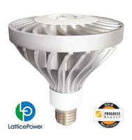 Lattice Power Receives IES Recognition for World's First High Output GaN-On-Silicon LED PAR38 Lamp