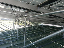 Hollaender® Speed-Rail® Structural Fittings Anchor San Rafael Airport Solar Photovoltaic System