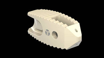 Thompson MIS is FDA Cleared for Spinal Implants Made of Solvay's Zeniva® PEEK