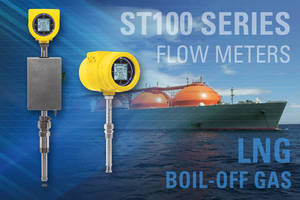 Boil Off Gas Flow Meter on LNG Tankers Helps Prevent Global Warming
