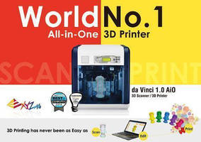 XYZprinting Europe Attracts Attention with Its Affordable Da Vinci 3D Printers at Euromold 2014