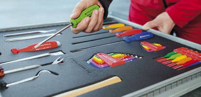 Count On Tools Inc. Shows 5S Compatibility of PB Swiss Tools Color Code Product Line