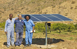 Solar Pump from Moyno Makes the Most of Water Resources in Africa