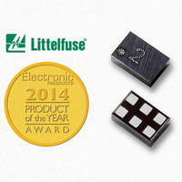 Electronic Products Honors Littelfuse with Product of the Year Award for SP1012 Series TVS Diode Array