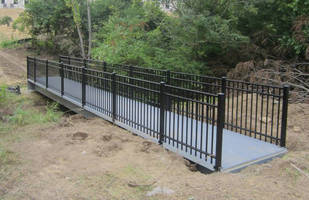 FiberSPAN Bridge Product a Zero Maintenance Choice for Mason Ohio Apartment Community Walking Trails