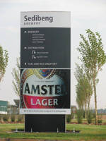 Vista System's Specially Designed Double Sided Pylons Were Recently Installed by SPS at Sedibeng Brewery (Pty.) Ltd., in Kliprivier, South Africa