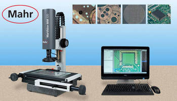 Mahr Federal to Feature MarVision MM 320 Video Measuring Microscope with Image Processing at MD&M EAST 2015