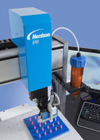 Nordson EFD Demonstrates New Automated Fluid Dispensing Systems at FEIMAFE 2015, Sao Paulo, Brazil, Stand N488
