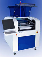 High-Throughout Screen Printer offers 6 sec core cycle time.