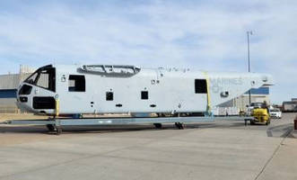 Spirit Delivers Third SDTA Fuselage to Sikorsky for Production Representative CH-53K Helicopter