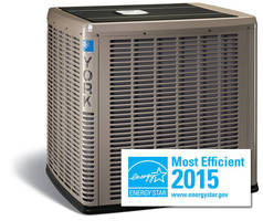 York Affinity Air Conditioners and Heat Pumps Designated ENERGY STAR Most Efficient for 2015