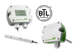 Humidity and Temperature Transmitters with BACnet Interface