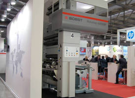 Bobst Italia Highlights Gravure and Lamination Technologies at Open House during Converflex 2015