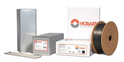 Hobart to Display and Demonstrate Filler Metals at FABTECH 2015