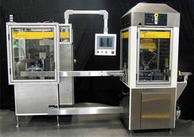 Vial Filling and Capping System Integrates with Robotic Tray Loader