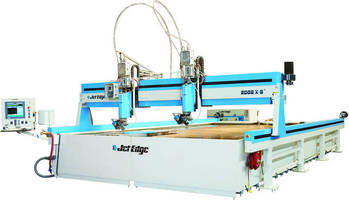 Jet Edge Bringing Latest Waterjet Cutting Systems to FABTECH