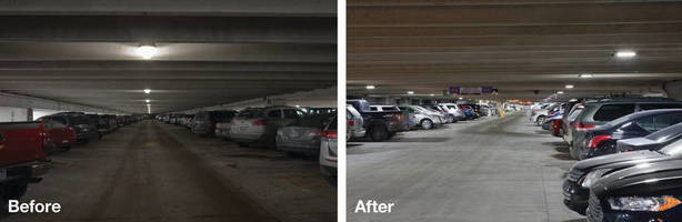 Eaton's Energy-Efficient LED Lighting Solutions Help Denver and Detroit Airports Win Three Lighting Energy Efficient in Parking Campaign Awards