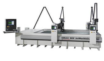 OMAX to Show How Waterjet Technology Improves Productivity at FABTECH