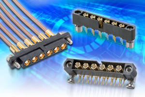 Hi-rel Connector Manufacturer Harwin to Showcase New Datamate Coaxial Interconnect and Preview New M300 10 Position Power Connector at DSEI 2015