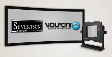 Severtson Screens Features New Volfoni SmartCrystal Pro 3D Modulator at 2015 CEDIA Expo
