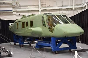 Spirit AeroSystems Completes First Fuselage for Bell V-280 Valor