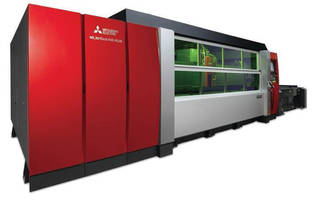 Mitsubishi Fiber Laser Highlights New and Updated Products in MC Machinery Systems' FABTECH Booth