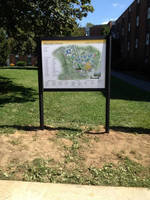Vista System's Appealing, Changeable Post Panel Signs were Recently Installed by Signarama of Lancaster, at the Millersville University, Pennsylvania, USA