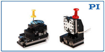 Multi-Axis Piezo-Motor Positioners: Ultra-Compact, Stackable Linear and Rotary Stages by PI