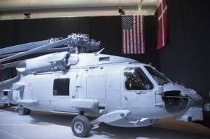 Lockheed Martin Delivers First Danish MH-60R Helicopter to the U.S. Navy