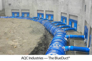 The BlueDuct® is the First Underground Air Duct System to be Certified for R-10 Thermal Performance Per Rigorous NSF P374 Protocol