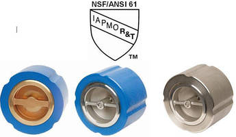 Flomatic Corporation is Proud to Announce that All of their Model 888 Silent Wafer Check Valves are Now NSF/ANSI Standard 61 Certified for Drinking Water Systems