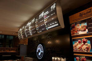 Vista System Presents: Bespoke Vista Light LED Illuminated, Impressive Menu Boards - a World Standard for Food Courts, Fast Food Chains and Restaurants