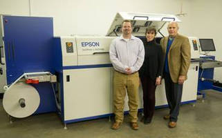 Ranger Label Installs Epson SurePress Digital Label Press to Deliver Pressure-Sensitive Short-Run Product Labels