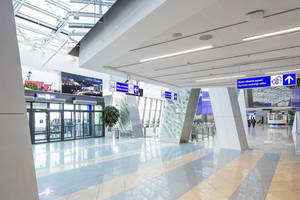 Minsk National Airport Features ROCKFON Acoustic Stone Wool Ceiling Systems