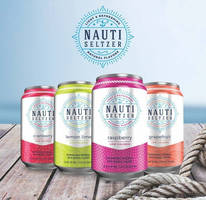 Nauti Seltzer Launches Nationally in 12 Ounce Cans from CROWN Beverage Packaging