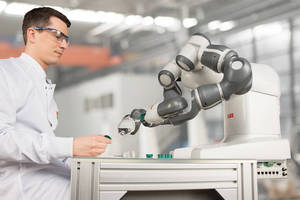 ABB to Feature Two YuMi dual-arm, Collaborative Robot Demos at the 2016 Vision Show, May 3rd - 5th in Boston