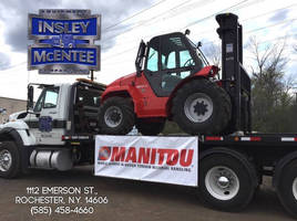 Manitou Americas Welcomes Insley-McEntee Equipment Co., Inc. to the Manitou Dealer Network