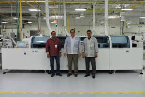 Firstronic Installs Third CX Model Inline Vapor Phase Reflow System from IBL Technologies