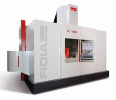 Fidia Co. to Feature high-speed Milling Machine, Controls and Milling Heads at 2016 IMTS Show