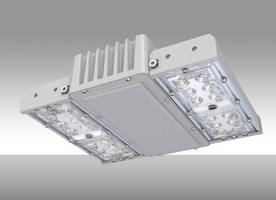 MaxLite LED Square Canopy Offers Energy Efficiency in Compact Design for Parking Garage Installations