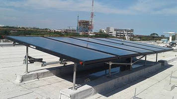 Hollaender® Speed-Rail® Fittings Help Bring Solar Power to Ghana Hospital