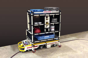 Creform to Showcase AGVs, Workstations and Flow Racks at 2016 Assembly Show
