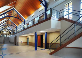 Hollaender's Interna-Rail® VUE Aluminum Railing System Enhances Boone County Enrichment Center