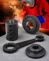 Shaft Collars, Couplings & Mounts Weldable to Create Custom Designed Assemblies