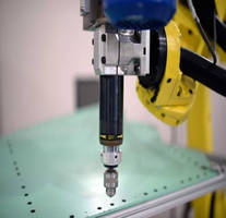 Automated Precision Inc. Uses Sugino Drill Unit at IMTS to Demonstrate Improved Positioning for Robot Drilling Applications