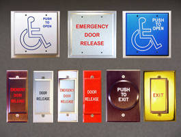 Dortronics Push Button Switches Make Handicap Access Easier