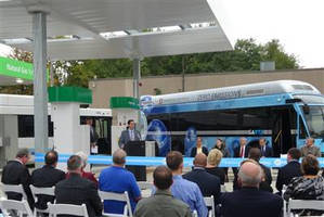 Air Products Providing Hydrogen Fueling Station and Liquid Hydrogen Supply for Stark Area RTA Zero Emission Buses